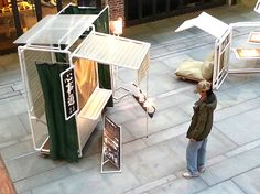 kahing design project p pvc pipe micro-structures china Kiosk Design, Booth Design, Tectonic Architecture, Mobile Architecture, Pvc Pipe Furniture, Furniture Plans, Design Projects, Diy Design, Design Ideas