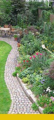 ein garten wird erwachsen | gardens, cottages and cottage gardens, Garten ideen