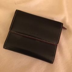 """I just discovered this while shopping on Poshmark: ‼️ Sale today ‼️ Lodis Leather Wallet. Check it out! Price: $11 Size: W 4.5"""" X H 3.75"""""""
