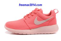 the latest bb545 f999a Womens Nike Roshe Run Hot Punch Storm Pink Shoes  fashion  sneakers Air Max  90