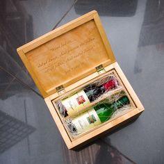 It's Wine wood handmade box | wedding | wooden | box wine | free plans | box sign | wood craft | wood sign | weeding's gift |