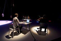 Presentación de Ólafur Arnalds durante la inauguración de Sónar en el espacio de SonarPLANTA 2015.