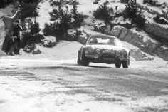 1972 MonteCarlo Rally Alpine Renault A110 1600 of JeanClaude ANDRUET and Pierre PAGANI