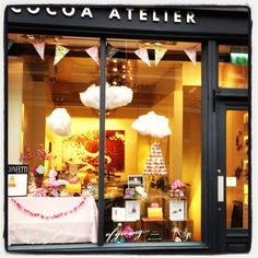And one of Dublin's most fantastic shops for window displays, too. Ireland With Kids, Window Displays, Dublin, Confetti, Cocoa, Shops, Table Decorations, Chocolate, Travel