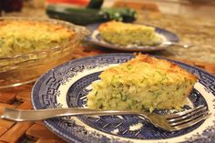 When the Zucchini Monster Strikes – Make Zucchini Pie and Zucchini Fritters!