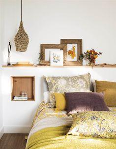 00469014. Dormitorio con cabecero de obra de pared a pared_00469014