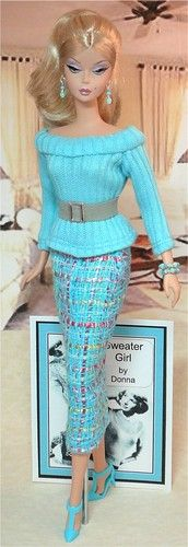 Sweater Girl  FYI:  Our Senior Center has a Boutique where grandmas and grandpas sell their homemade items for a small percentage of the price.  Some grandmas made American Girl Doll clothes and some make Barbie clothes. Very nice and a fair price.  Check out you neighborhood senior center.