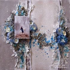 Mary's Crafty Moments: ''Wild & Free'' - DT Layout for Maja Design Februa...