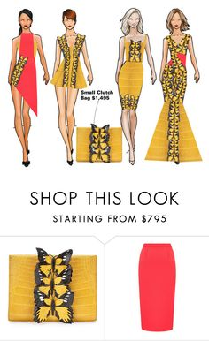 """""""Fashion    Collection"""" by coppin-s ❤ liked on Polyvore featuring Nancy Gonzalez and Roland Mouret"""