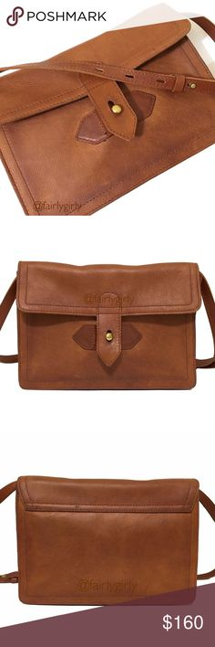 """❤️ SALE Madewell Sketchbook Bag in English Saddle Everything you need and nothing you don't. This beautiful cognac leather bag easily converts from a shoulder bag to a clutch by removing the snap-in strap. Overall excellent condition, the leather has developed a rich patina giving it a warm, vintage look. There are marks on the bag, pictured. The lining is in great shape, minimal wear The leather has been professionally cleaned and conditioned with a waterproofing conditioner.  7""""h x 10""""w x…"""