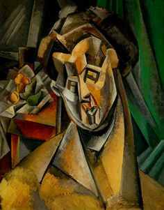 "Pablo Picasso - ""Woman with Pears"". 1909"