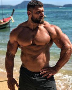 All about sexy men Big Muscle Men, Muscle Bear, Muscle Hunks, Hunks Men, Hot Hunks, Big Guys, Big Men, Hairy Men, Bearded Men
