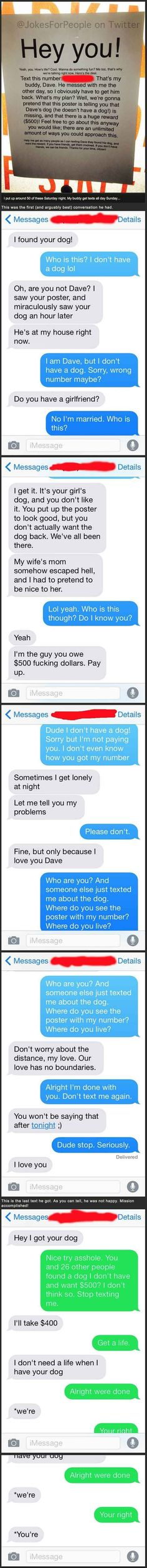 Getting complete strangers to troll your friend http://ibeebz.com