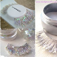 Making my own Snow Queen Lashes! - Karla Powell