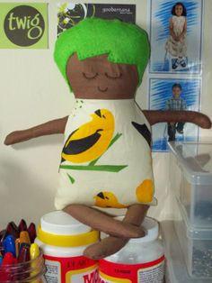 Black Apple Doll-Craftser