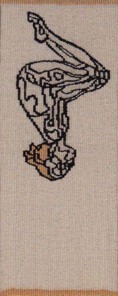 Amy Cornall (Australia) A sketch for Rachel 27 x 11 cm