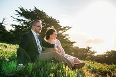 Lands End Engagement Photos in San Francisco by Pictilio