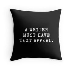 Little Book of Muses Writer Pillow Write by IDefineMeProject