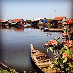 Floating Village near Siem Reap, Cambodia