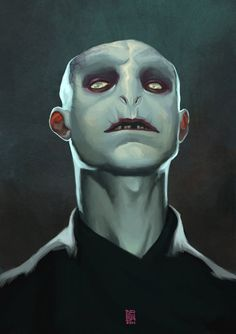 It's not easy being evil… especially for the corrupt Lord Voldemort. Check out the step by step tutorial for Sergi Brosa's Harry Potter fan art piece HERE. Voldemort by Sergi Brosa (deviantART) Harry Potter 2, Watch Harry Potter Movies, Harry Potter Voldemort, Harry Potter Artwork, Lord Voldemort, Harry Harry, Creative Illustration, Illustration Art, Expecto Patronum Harry Potter