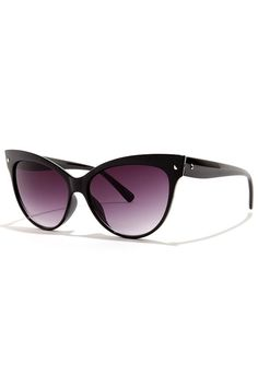 Right Meow Black Sunglasses at Lulus.com!