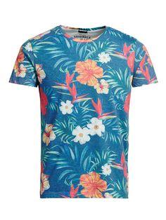 [ T-SHIRT ] Jack & Jones, T-Shirt Blumen