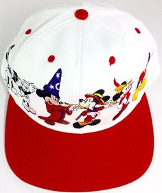 815359e3e63 Mickey Mouse Hat THROUGH THE YEARS Disney Embroidered Snapback Goofys Hat Co  NWT  GoofysHatCo