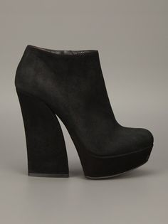 GIANMARCO LORENZI  Platform ankle boot