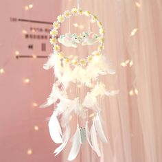 Dream Catcher White, Cute Stationery, Cute Home Decor, Kawaii Clothes, Cute Diys, Living Room Modern, Small Apartments, Daisy, Great Gifts
