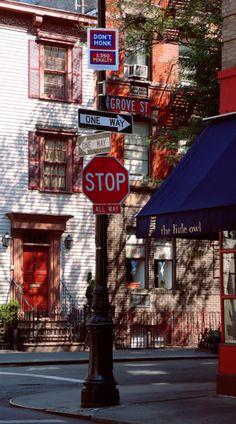 #GreenwichVillage, un sitio para recorrerlo de principio a fin, y sacar cientos de fotografías.