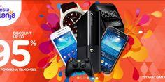 Discount Up to 95 % Untuk Pengguna Telkomsel | Tempatnya Promosi dan Diskon