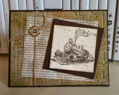 Windy's Wonderful Creations: Vintage Traveler- stamp sets Traveler and Off the Grid - details in the post