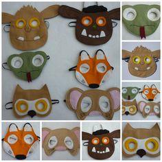 Woodland animal storybook companion set for children. Mouse, Fox, Owl, Snake…