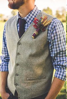 Rustic Groom Outfit