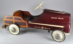 Station Wagon - Circle G Ranch pedal car