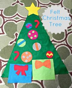 Nap Time is the New Happy Hour: Oh Christmas Tree, Oh Felt Christmas Tree