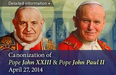 Salt + Light Television to broadcast the Canonizations of John ...