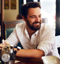 Jake Johnson Interview - Hot Guy Cold Drink - Elle