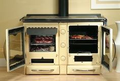 La Nordica America Wood Cookstove by Obadiah's Woodstoves
