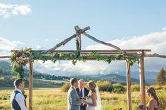Rustic Deer Creek Valley Ranch Colorado Mountain Wedding // Jessica Christie Photograghy