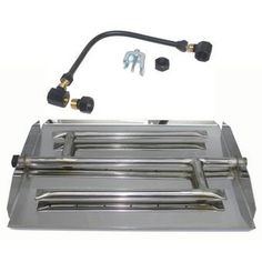 ETCO Fire Pit Natural Gas Linear Burner Pan Kit   Wayfair Gas Fire Pit Kit, Fire Pit Tools, Fire Pit Grate, Fire Pit Sets, Natural Gas Fire Pit, Glass Fire Pit, Concrete Fire Pits, Fire Pit Liner, Fire Pit Spark Screen
