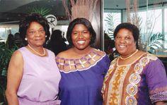 Grandma, LaShana and Mom at Dennis Archer Scholarship reception