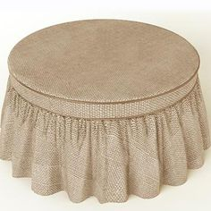 on slipcover best stunning ideas about pattern round cover ottoman