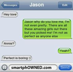 Page 8 - Autocorrect Fails and Funny Text Messages - SmartphOWNED aww now that's a great bf Funny Texts Jokes, Text Jokes, Funny Texts Crush, Funny Text Fails, Funny Quotes, Epic Texts, Quotes Quotes, Text Pranks, Romance Quotes