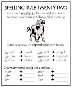 Spelling Rule 22                                                                                                                                                     More
