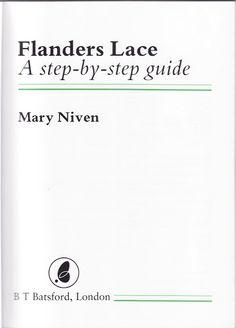 Niven, M. - Flanders lace step by step - lini diaz - Picasa веб-албуми