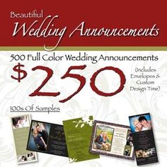 Why Beautiful Wedding Announcements Uniquely Customized Invitations And Thank You Cards