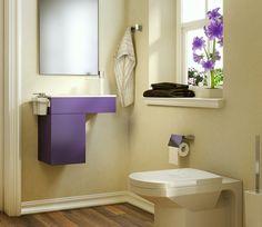009Design alegre para os banheiros (Foto: cortesia Hastings Tile & Bath)