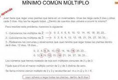 Resultado de imagen de imagenes minimo multiplocomun