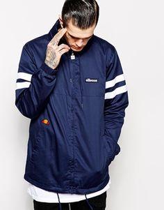 Ellesse Jacket With Sleeve Stripes